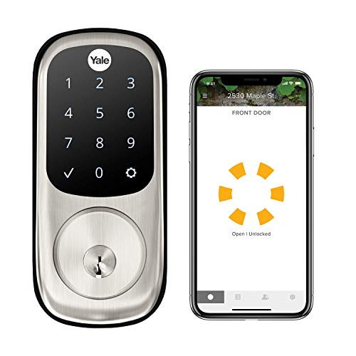 Yale Assure Lock Touchscreen, Wi-Fi Smart Lock - Works with the Yale Access App, Amazon Alexa,...