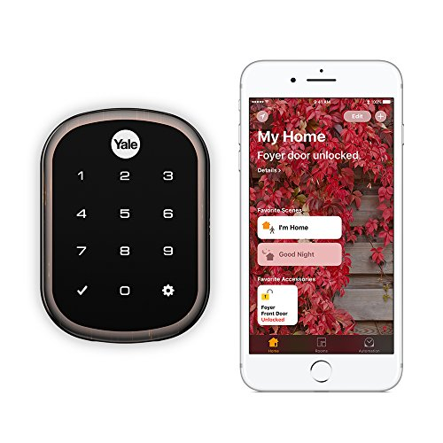 Yale Assure Lock SL - Key Free Smart Lock with Touchscreen Keypad - Works with Apple HomeKit and...