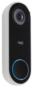 The Nest is a great video doorbell camera.