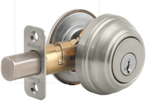 The 5th best high security deadbolt.