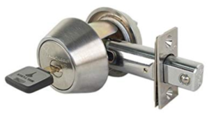 What is a high security residential deadbolt?