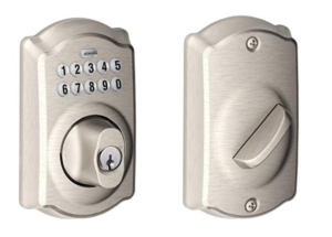 Schlage is best keyless deadbolt lock.
