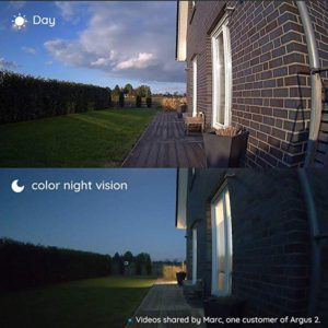 Good night vision security camera