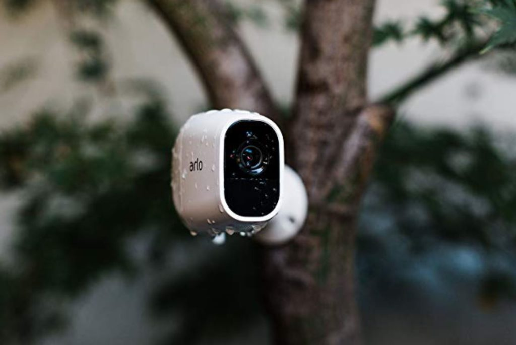Arlo pro 2 security camera system with siren