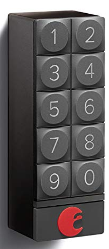 optional exterior august keypad