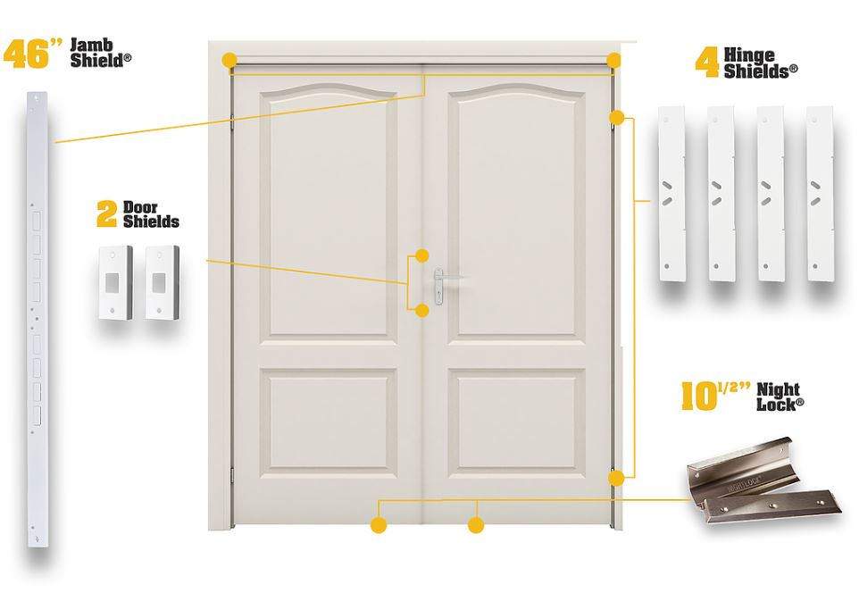 french door reinforcement kit