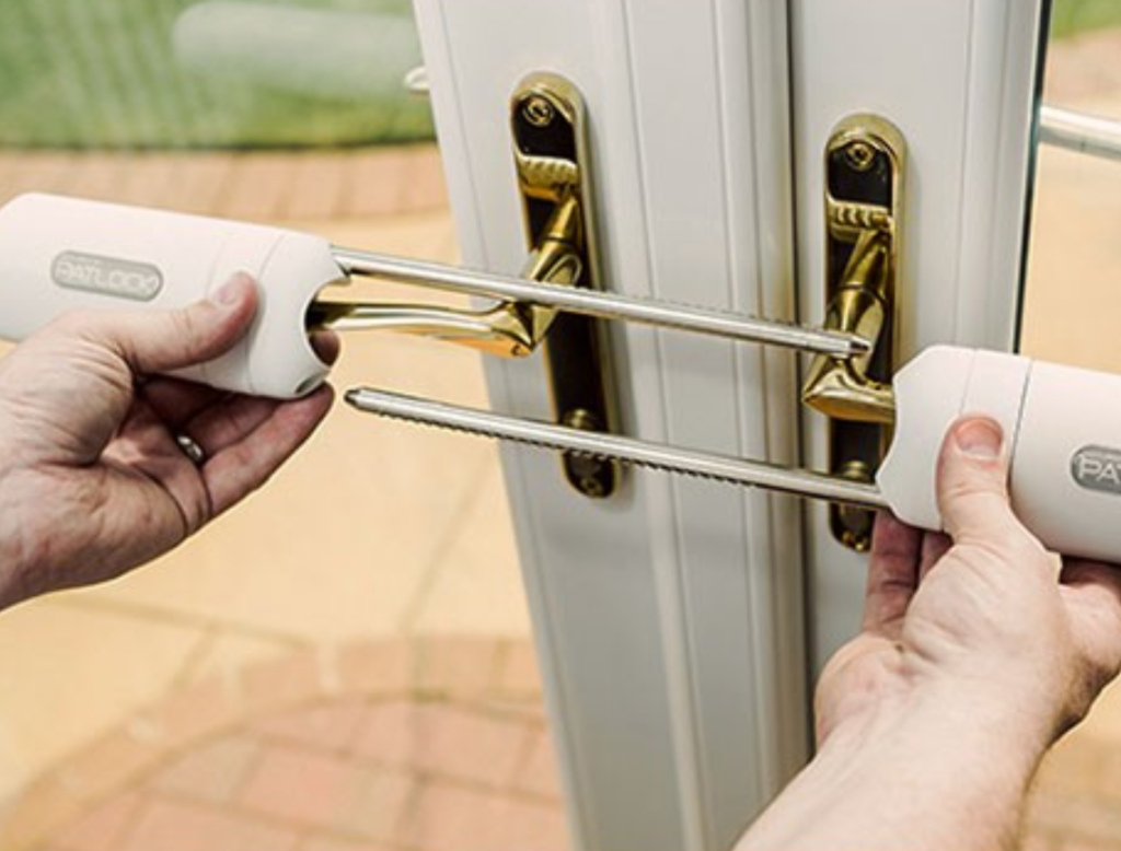 securing your french door