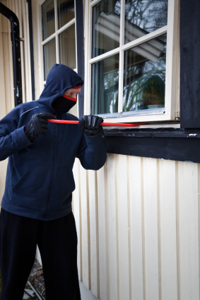 breaking and entering for a home burglary