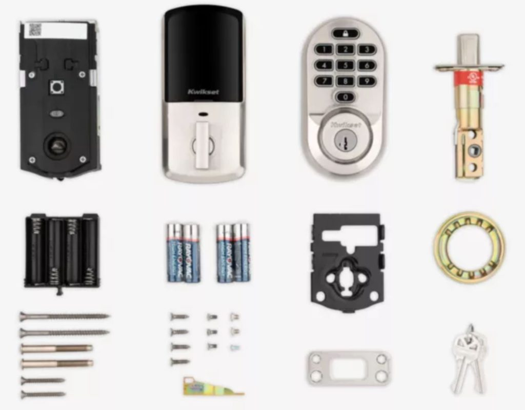 kwikset wifi deadbolt parts